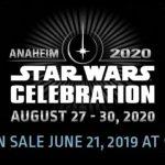 Toda la información de Star Wars Celebration 2020 en Anaheim