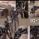 The Mandalorian – Figura de colección de IG-11 a escala 1/6 de Hot Toys