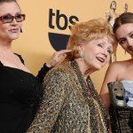La hija de Carrie Fisher, Billie Lourd, interpretó brevemente a la joven Leia en The Rise of Skywalker