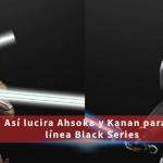 Ahsoka y Kanan para la Wave dedicada a la Serie 'Rebels' de 6″