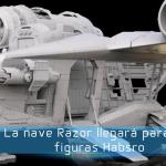 Hasbro Pulse Con muestra desarrollo de la nave Razor de 'The Mandalorian'