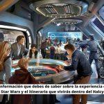 Toda la información que debes de saber sobre la experiencia del Hotel de Star Wars y el itinerario que vivirás dentro del Halcyon