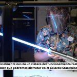Disney oficialmente nos da un vistazo del funcionamiento real del Lightsaber que podremos disfrutar en el Galactic Starcruiser